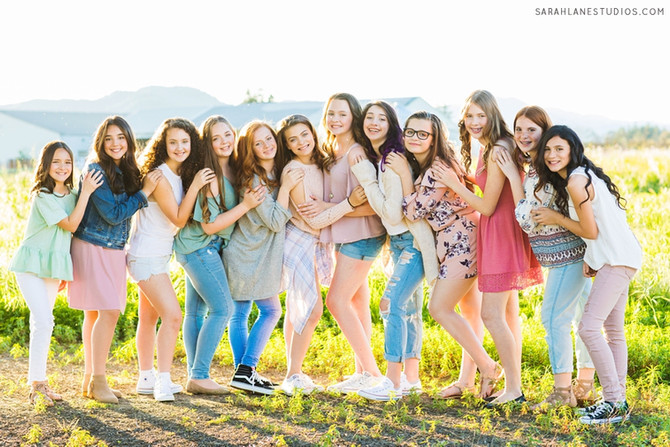 Spring Shoot | Twelve Teens | Napa Valley Portrait Photography | Studio Twelve