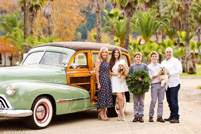 The Piazza Family | Napa Family Portrait Photographer | Studio Twelve