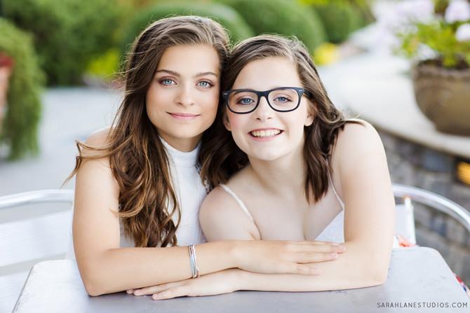 Lizzie + Jillian | Twelve Teens | Napa Valley Portrait Photography | Studio Twelve