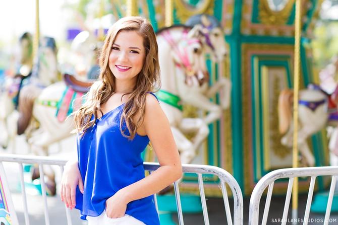 Francesca L. | Justin Siena High School | Napa Valley Portrait Photographer | Studio Twelve