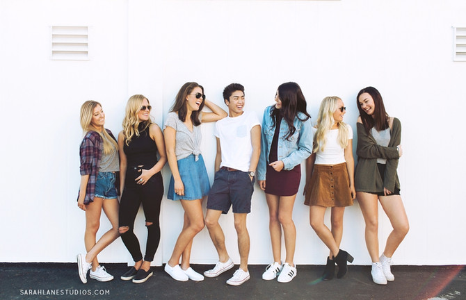 Brandy Melville | Napa Valley Senior Portrait Photography | Studio Twelve