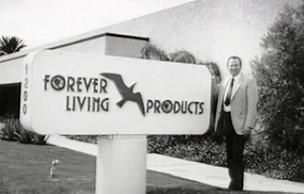 forever living products, rex moughan, forever living īpašnieks