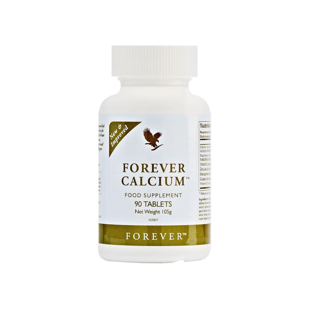 kalcijs, dabīgs uztura bagātinātājs, forever living calcium