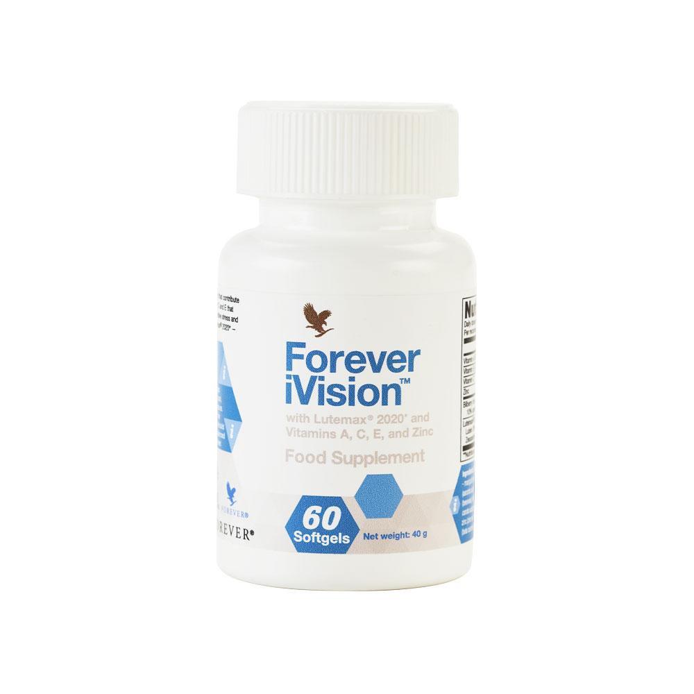 Forever ivision, uztura bagātinātājs redzei, acīm, vision, vitamini redzei
