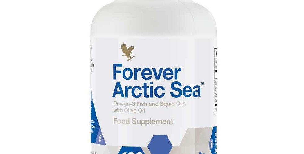 dabīga zivju eļļa kapsulās, forever arctic sea, omega-3, forever living
