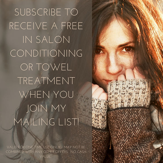 conditionig treatment for hair brunette long hair happy woman hair salon in Great Falls, MT