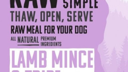 Bone Free Lamb Mince and Tripe 500g
