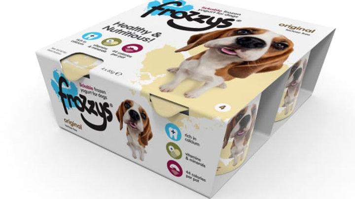 Frozzys 4 Pack Original Frozen Yogurt