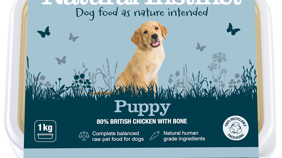 Natural Instinct - Puppy (Chicken & Beef Liver)