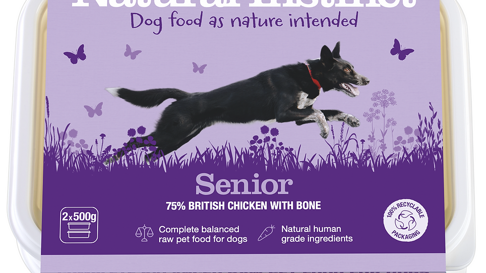 Natural Instinct - Senior (Chicken & Vegetable)