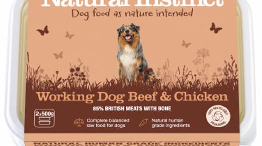 Natural Instinct - Working Dog Beef & Chicken