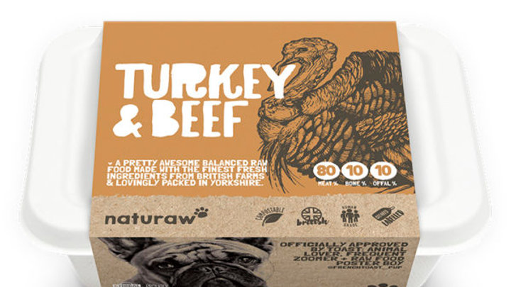 Naturaw - Turkey & Beef