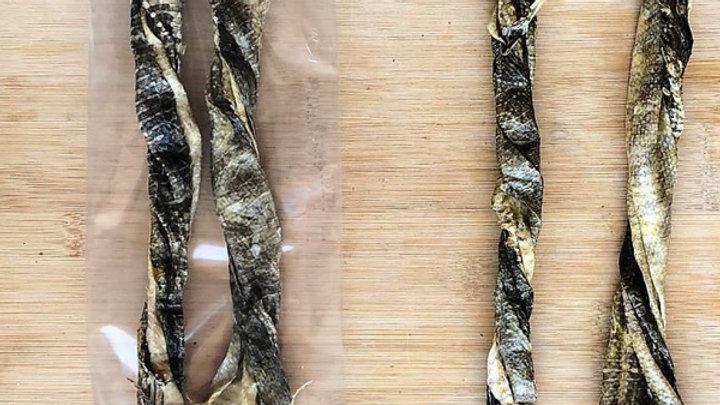 Dried Fish Twirls (2 Pack)