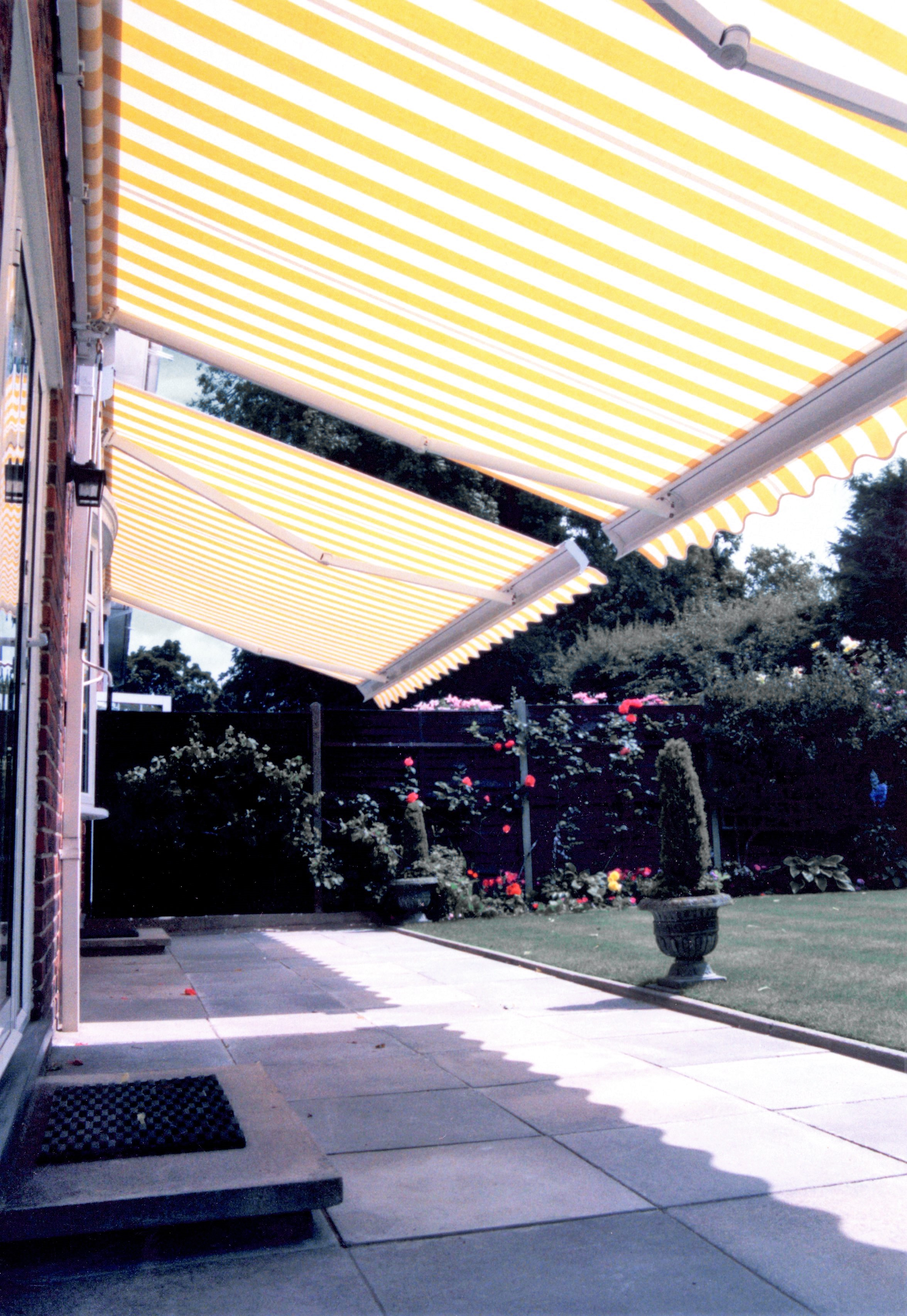 Awning -Folding Arm Square Bar