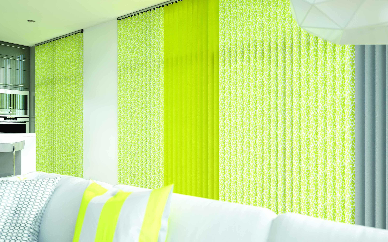 Vertical -Confetti Chartreuse