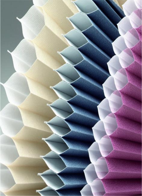 Duette honeycomb fabrics