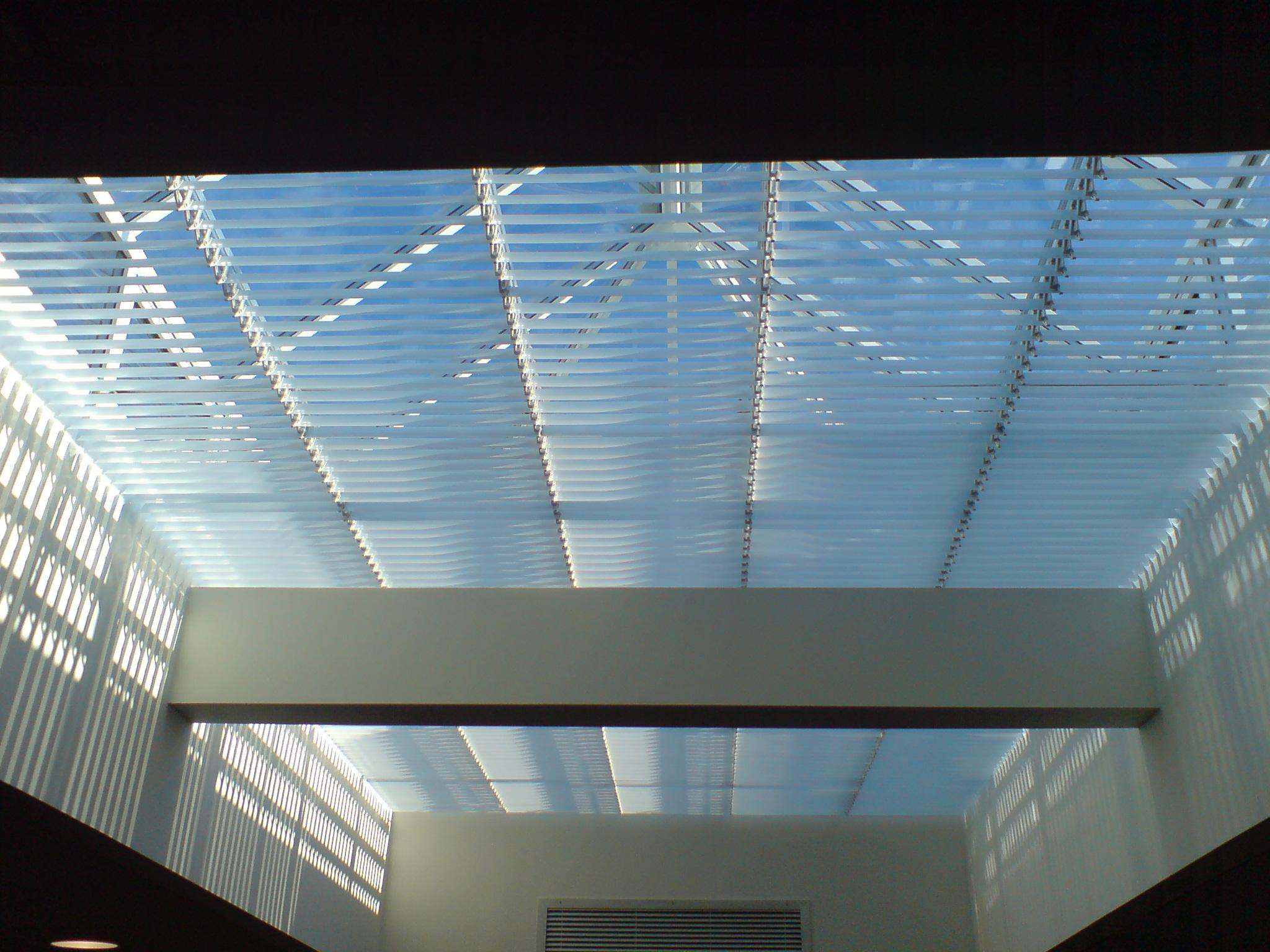 Rackarm skylight open