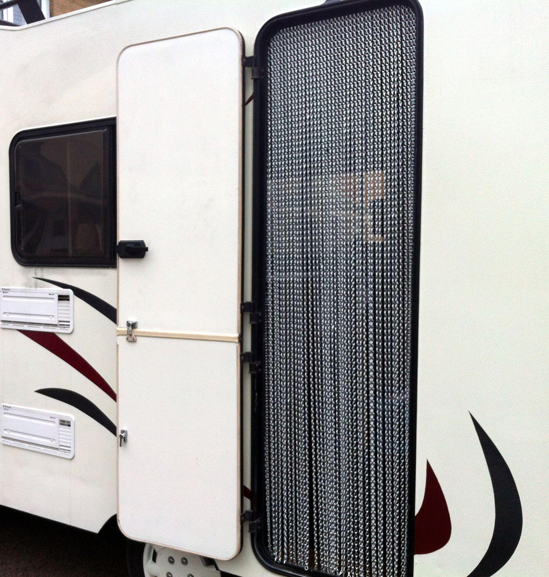 Aluminium Chain Curtain -Caravan