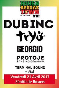 Dub Inc Tryo Georgio Protoje & The Indiggnation Terminal Sound Vaga