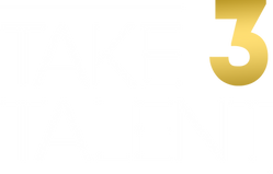 Take3-Logo_2019_No_Circle-1 GOLD white t