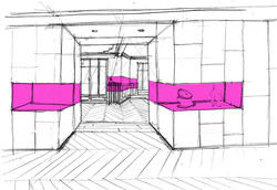 elemento-sandyfred-couloir contemporain