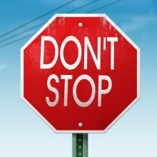 No Matter What, Don't Stop