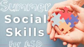Summer Social Development for ASD
