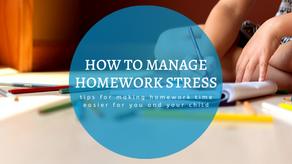 How to Manage Homework Stress
