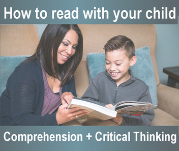 Build Comprehension + Critical Thinking Skills When Reading with Your Child