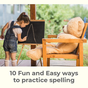 10 Fun and Easy Ways to Practice Spelling