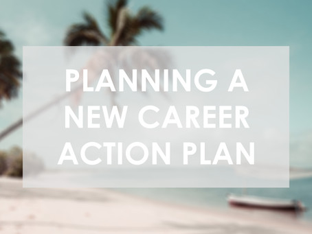 New Career Action Plan