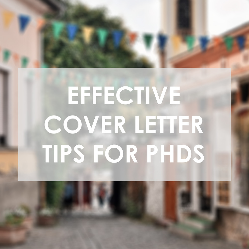 cover letter for phd