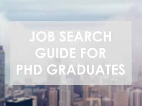 Jobs for PhD Graduates