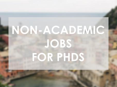 Finding Non-Academic Jobs for PhDs