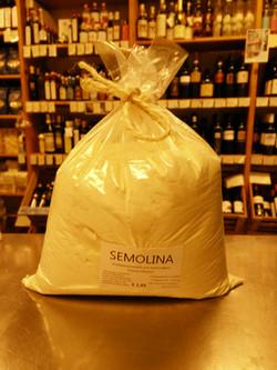 Mehl Semolina für Pasta & Teige