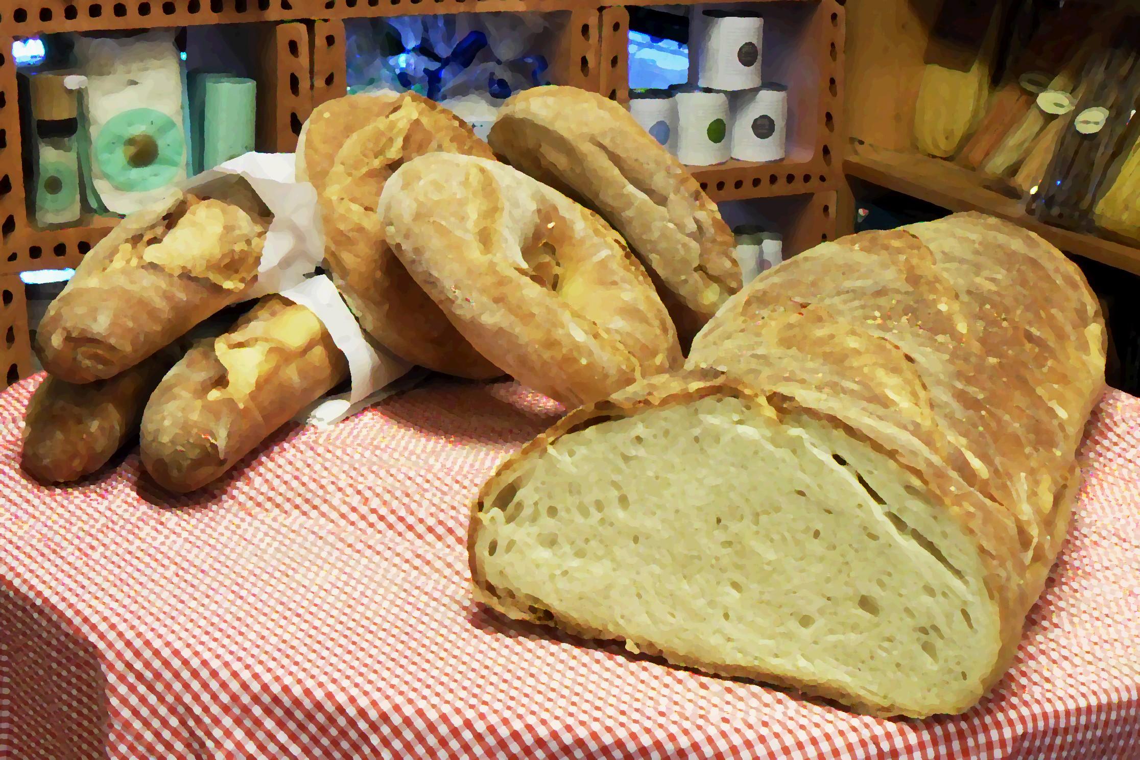 Il Pane, frisches ital. Brot, nur Sa