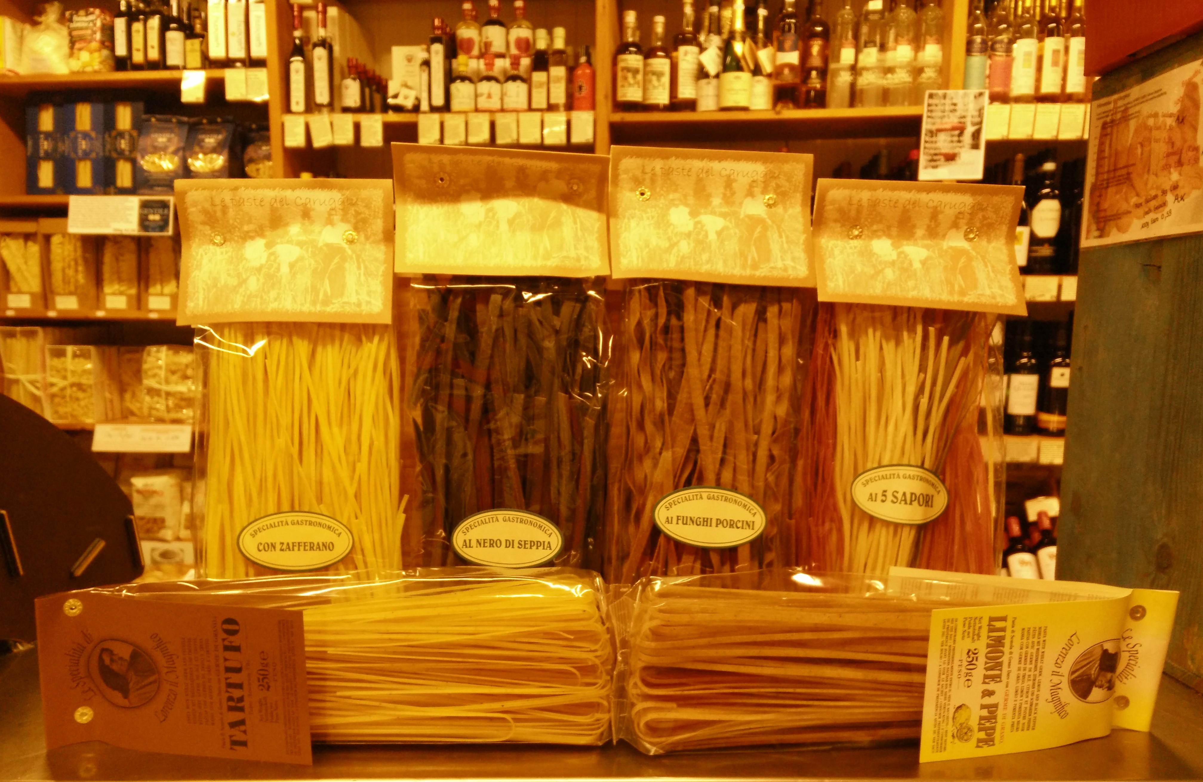 Pasta, aromatisiert