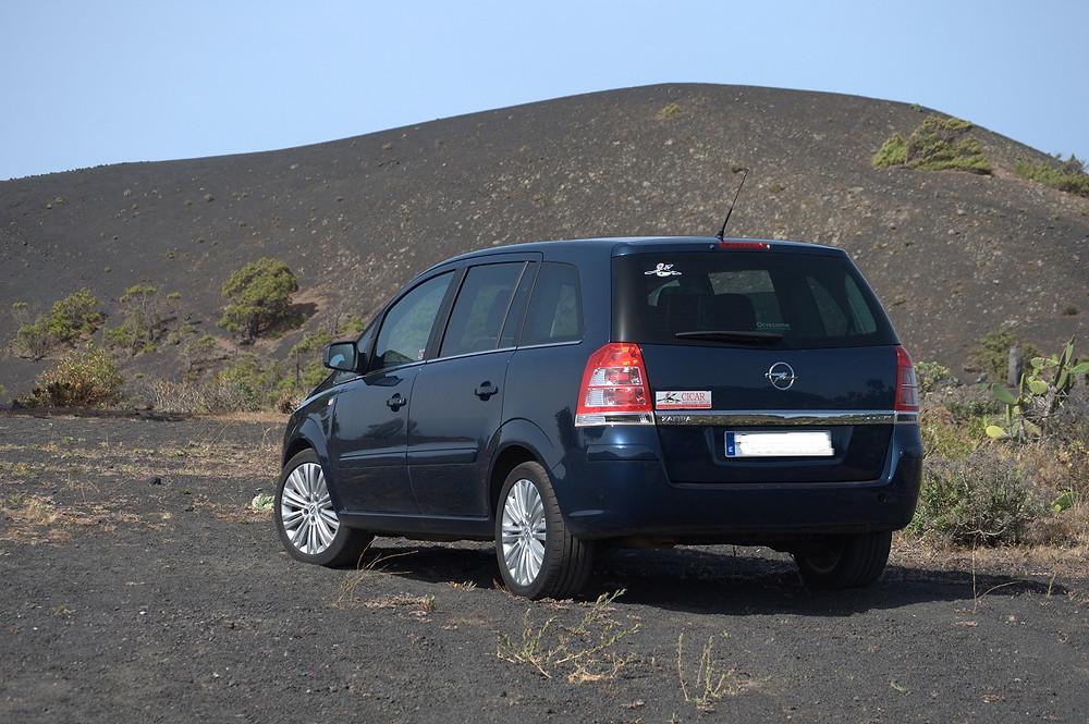 Půjčené auto od společnosti Cicar, La Palma