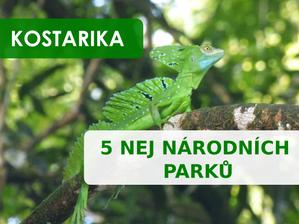Pět národních parků v Kostarice, které vám vezmou dech