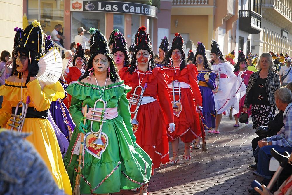 Průvod masek v Las Palmas, Gran Canaria