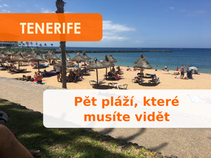 5 pláží na Tenerife, které nesmíte minout
