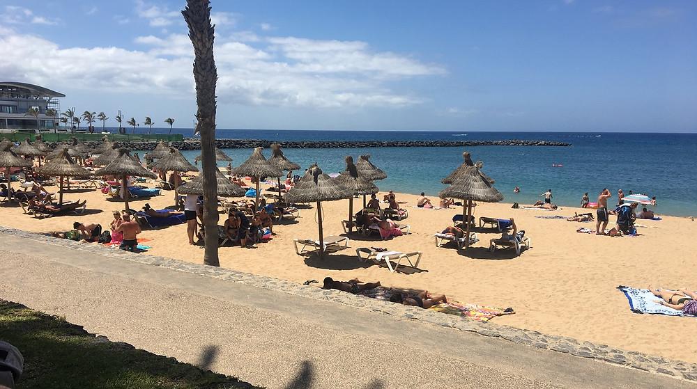 Pláž El Camisón, Los Cristianos