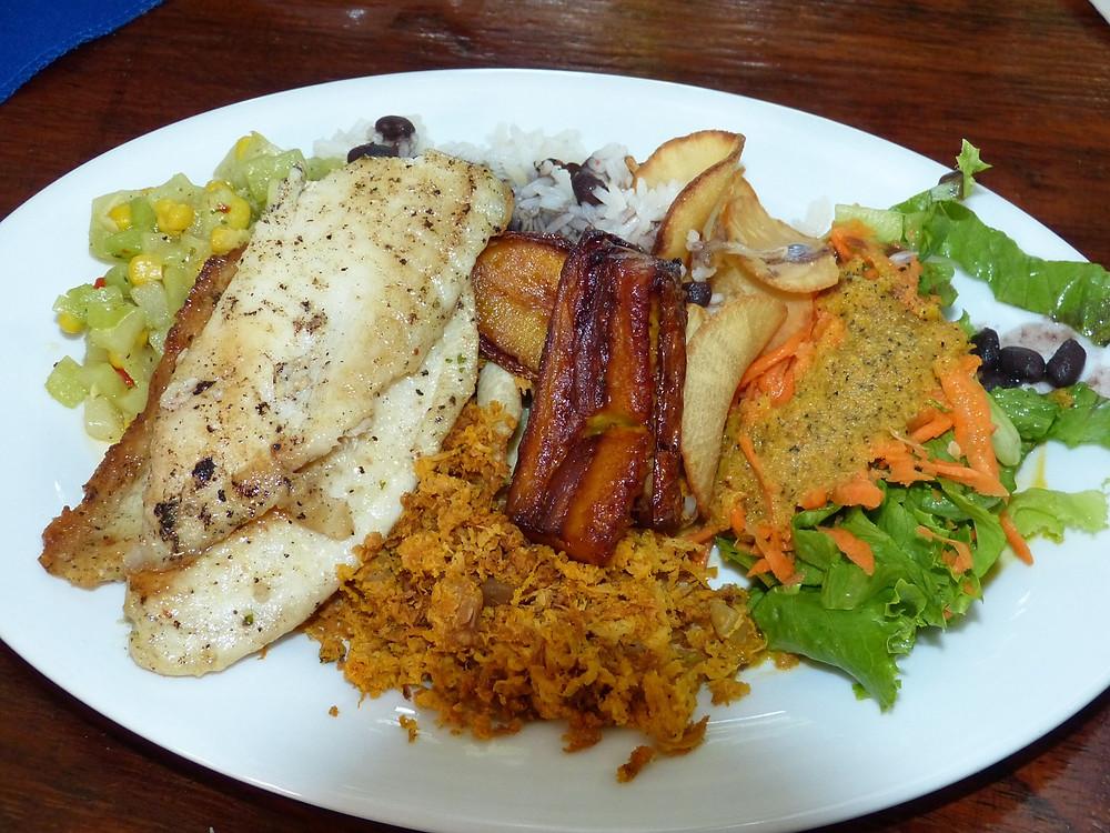 Casado - typický kostarický pokrm