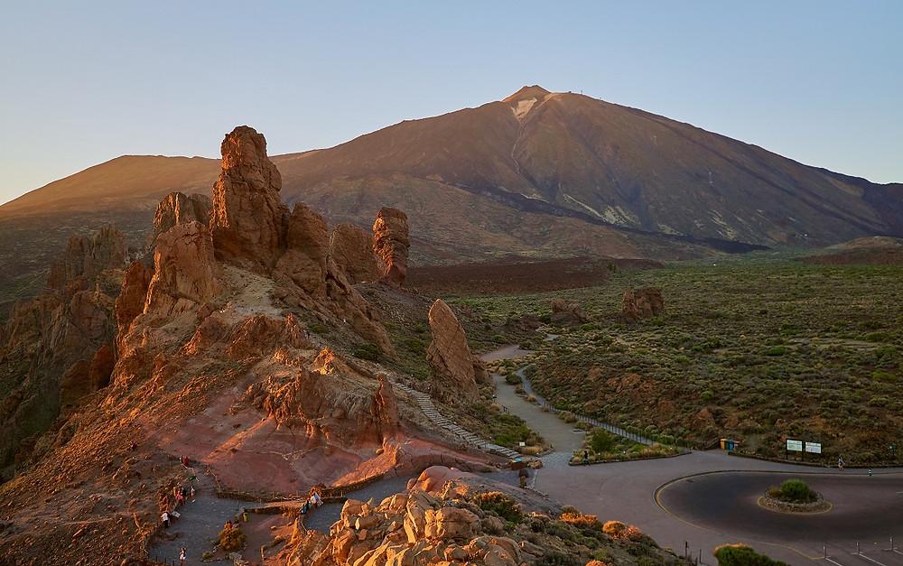 Pohled na nejvyšší horu Španělska - El Teide