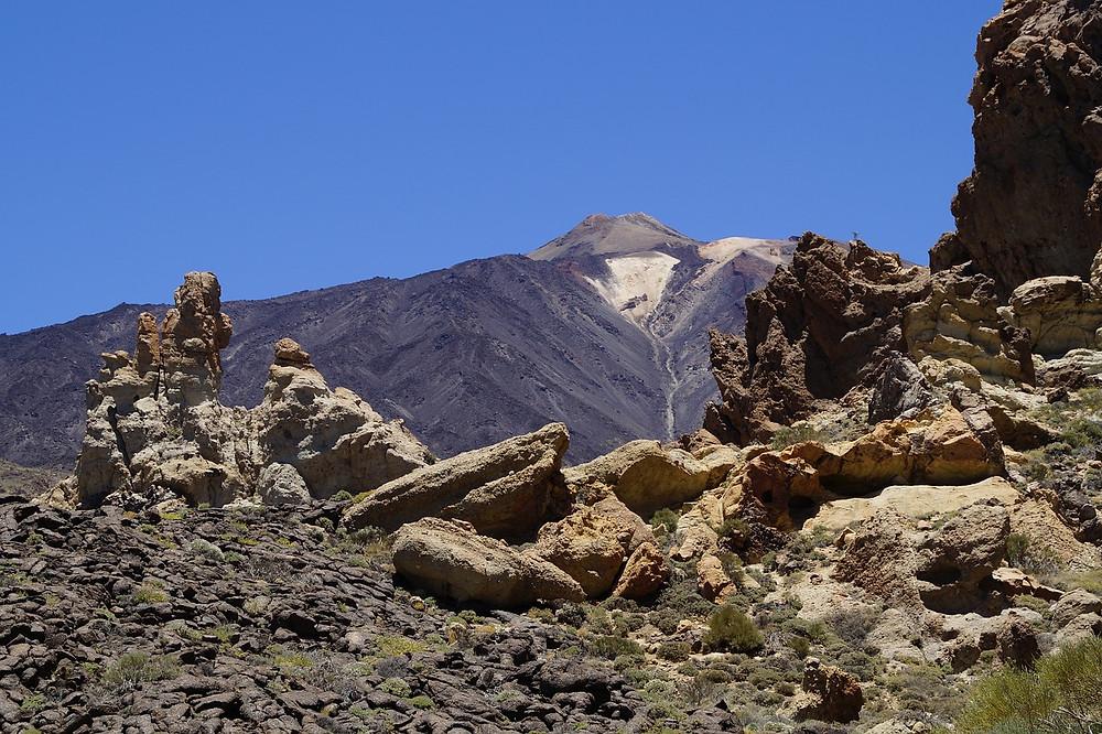 Národní park Teide s nejvyšší sopkou Španělska, Tenerife