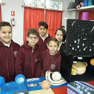 Exposición Sistema Solar 4°año