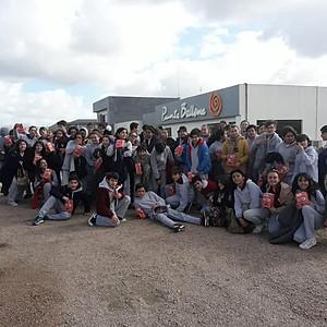 Salida didáctica fábrica Punta Ballena, Primer año secundaria.