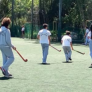 Actividad de Hockey en el club CLUBUR