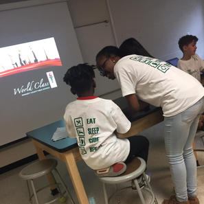 Nonprofit Work Teaching Students How to Code
