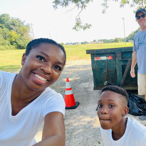 Sugar Hill's Downtown Litter Cleanup